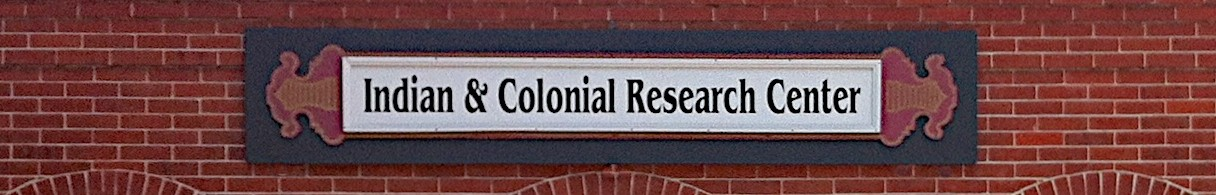 The    INDIAN  &  COLONIAL  RESEARCH  CENTER