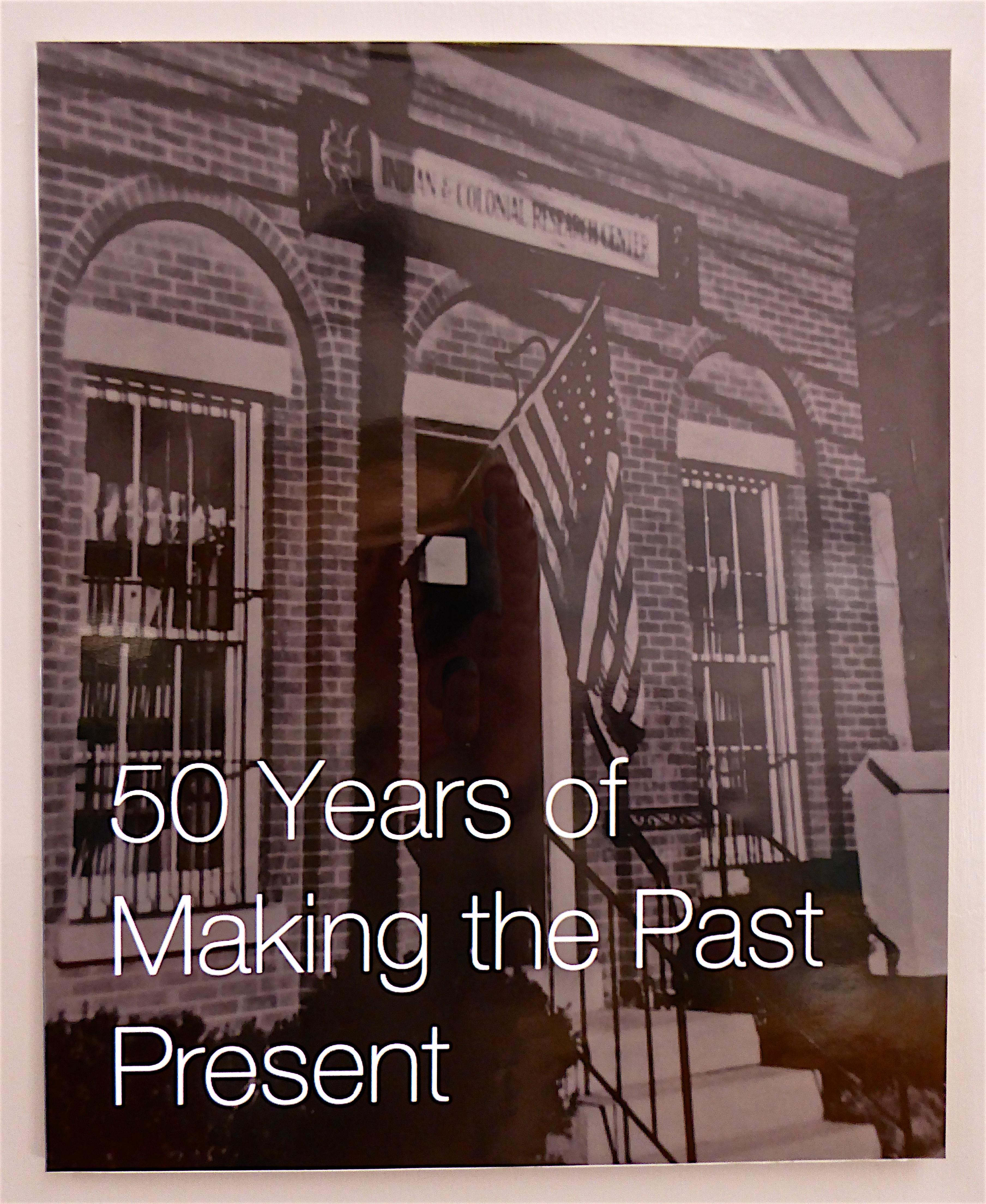50 Years Past present
