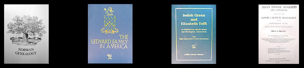 4 Genealogy Books