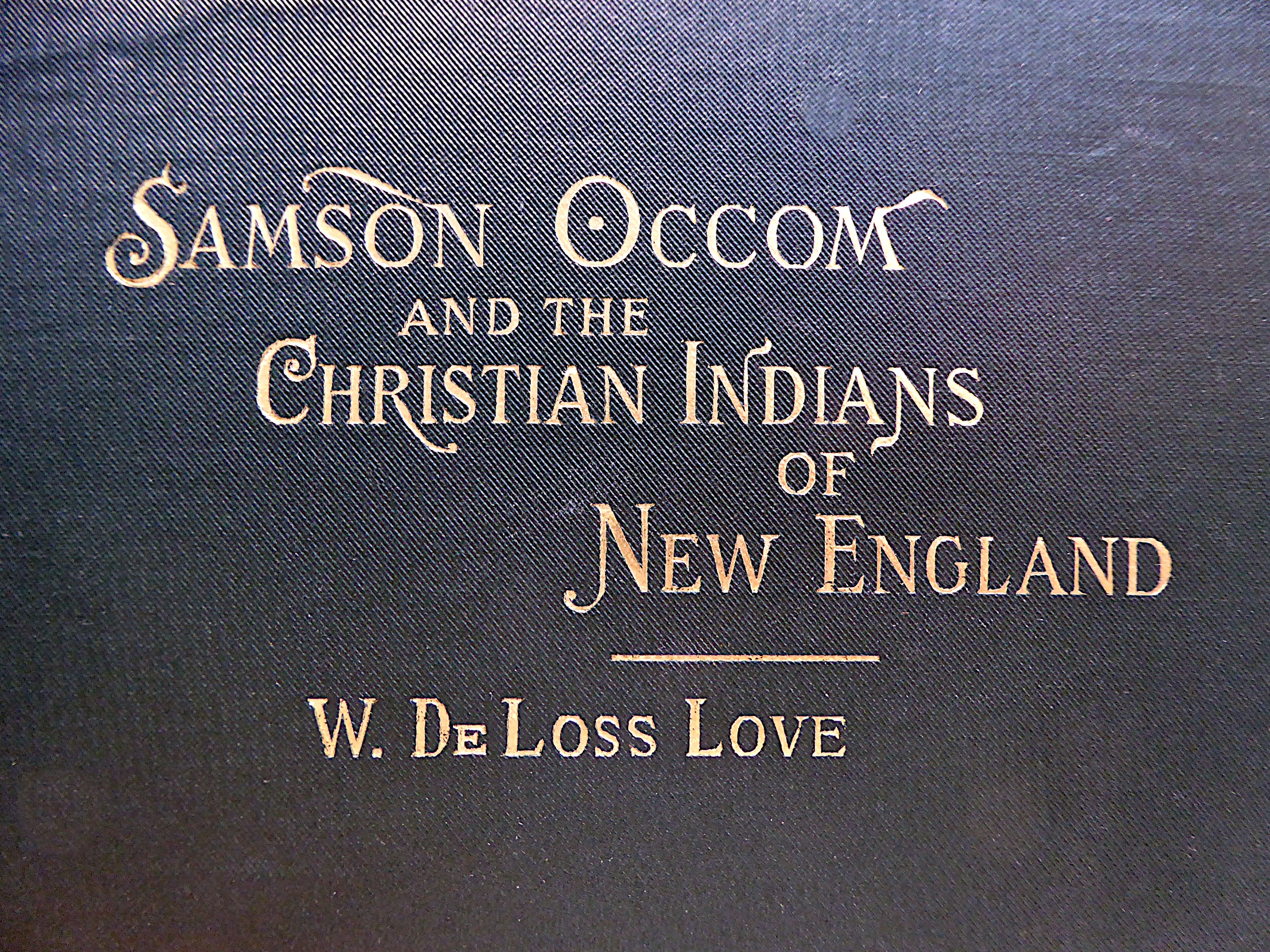 Occom Cover